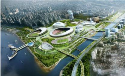 Seoul Stadium of sports complex