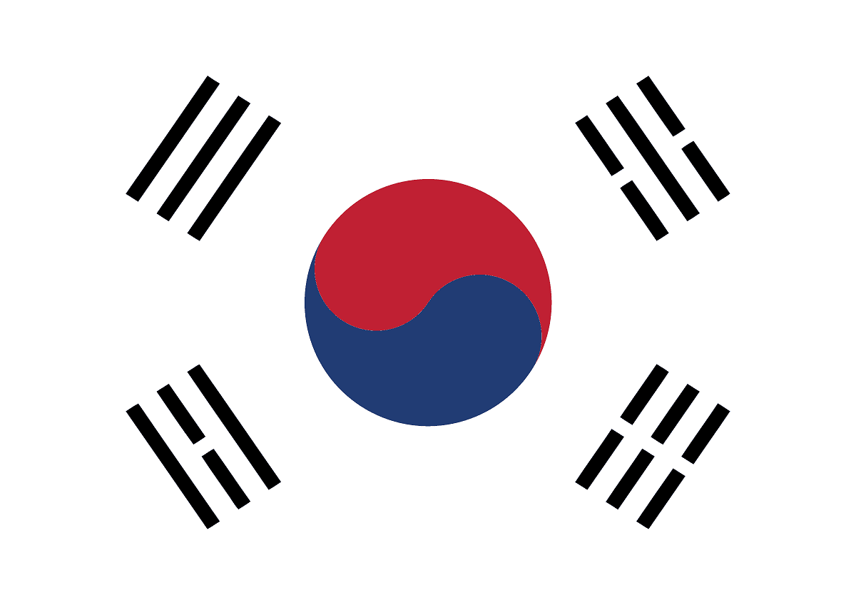 Korea Clipart Korean Flag 3